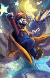 Super Mario World.  Star World