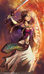 Princess Zelda by Francisco-K