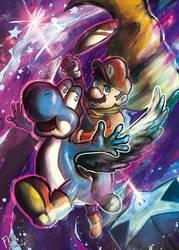Super Mario World - STAR ROAD II by Francisco-K