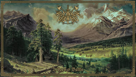 Caladan Brood - Echoes Of Battle (LP Cover)