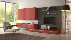 3D Room Interior Design by Lady-Dara