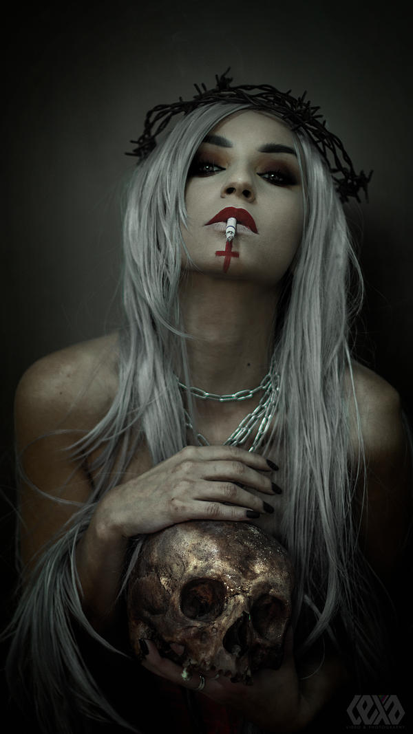 Martyr of the sins of desire by psychicLexa