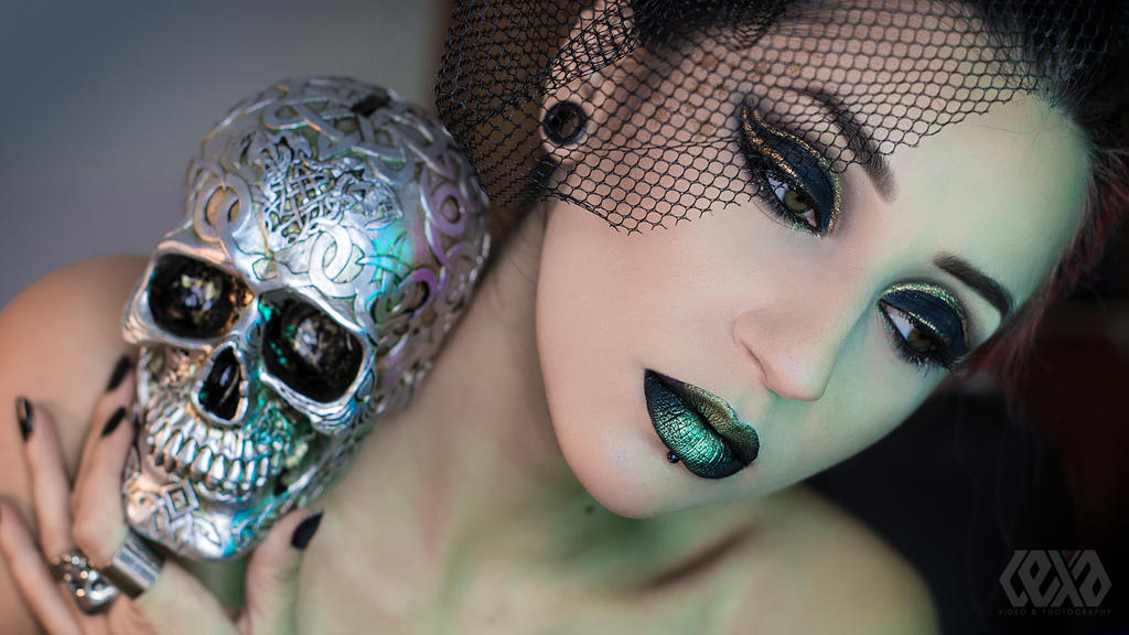 Metallic Green by psychicLexa