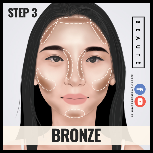 How to contour in 60 secs Step 3 by 3demman