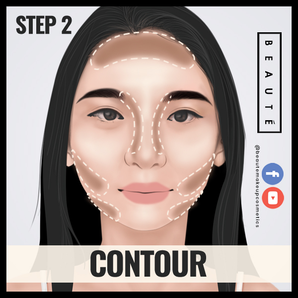 How to contour in 60 secs Step 2 by 3demman