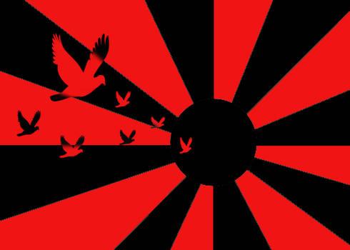 Birds Into the Sun