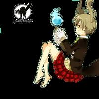 render maka-chan by springkolors