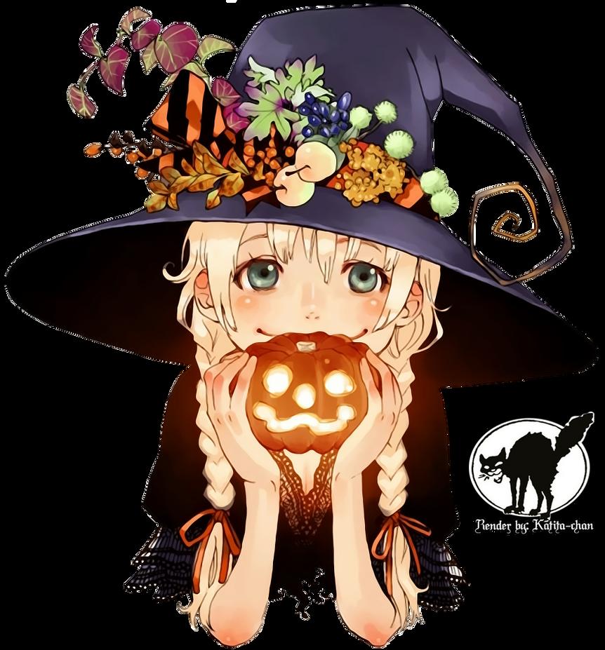 Anime Cat Boy Pumpkin