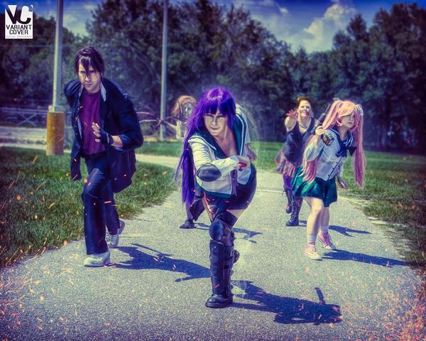 High School of the Dead by miyumiyuchancosplay