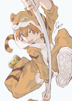 im not a tiger imma jaguar