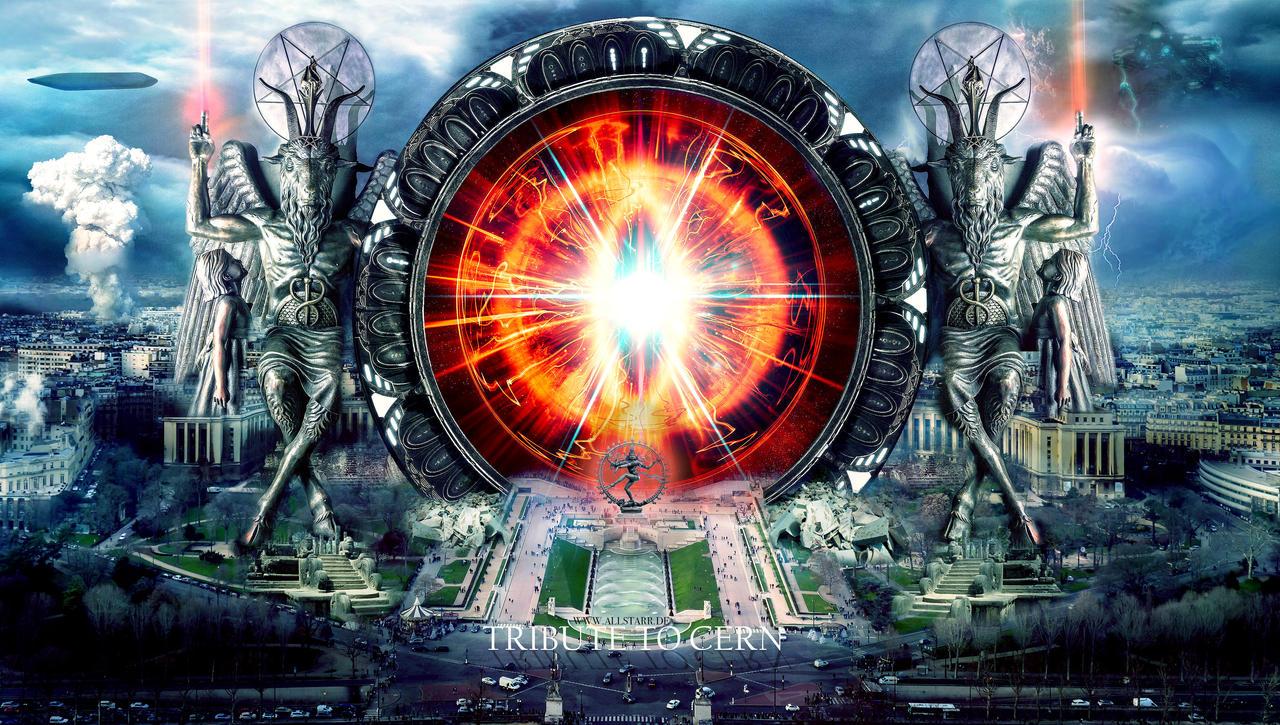 CERN by The-ALLSTARR