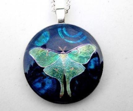Lunar Moth by luminarydreams