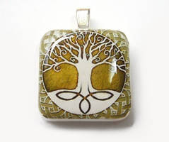 Celtic Tree of Life Pendant by luminarydreams