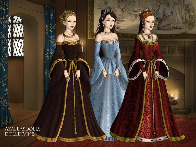 The Queens of York by Katrina-Von-grim