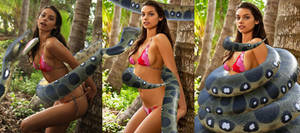 Michelle Vawer S Snake Photo Shoot