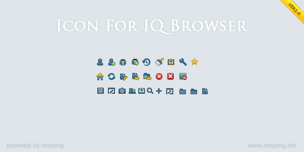 Icons for iq browser by chinapeng