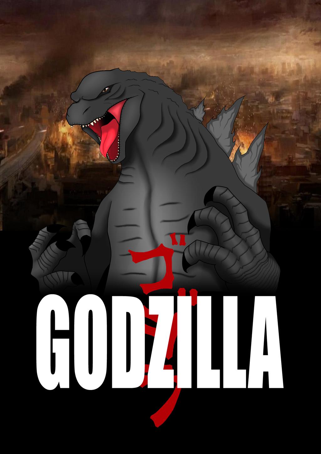 Godzilla 2014 by CrazyNat2012