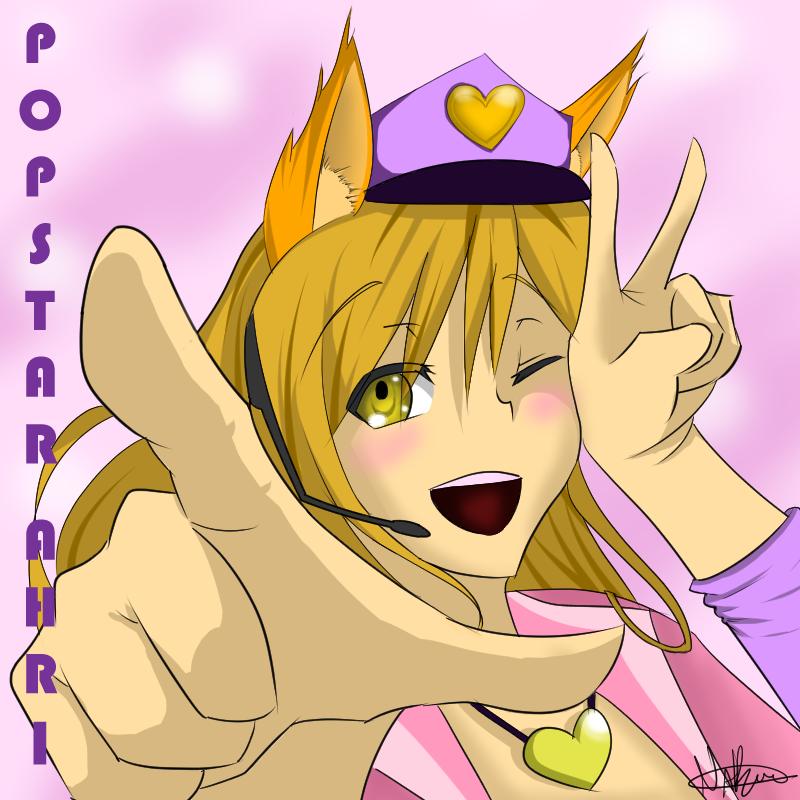 Popstar Ahri by CrazyNat2012