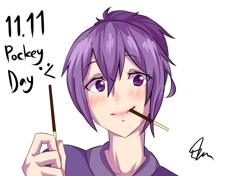 Pocky Day 2016 by CrazyNat2012