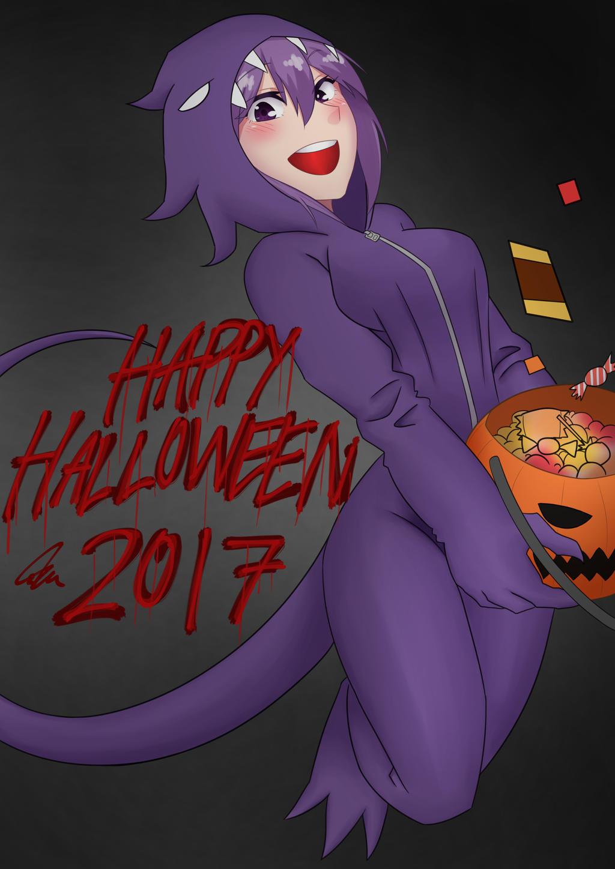 Nerypheria Halloween 2017 by CrazyNat2012