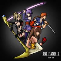 DF II: Tecmo Girls by isaiahjordan