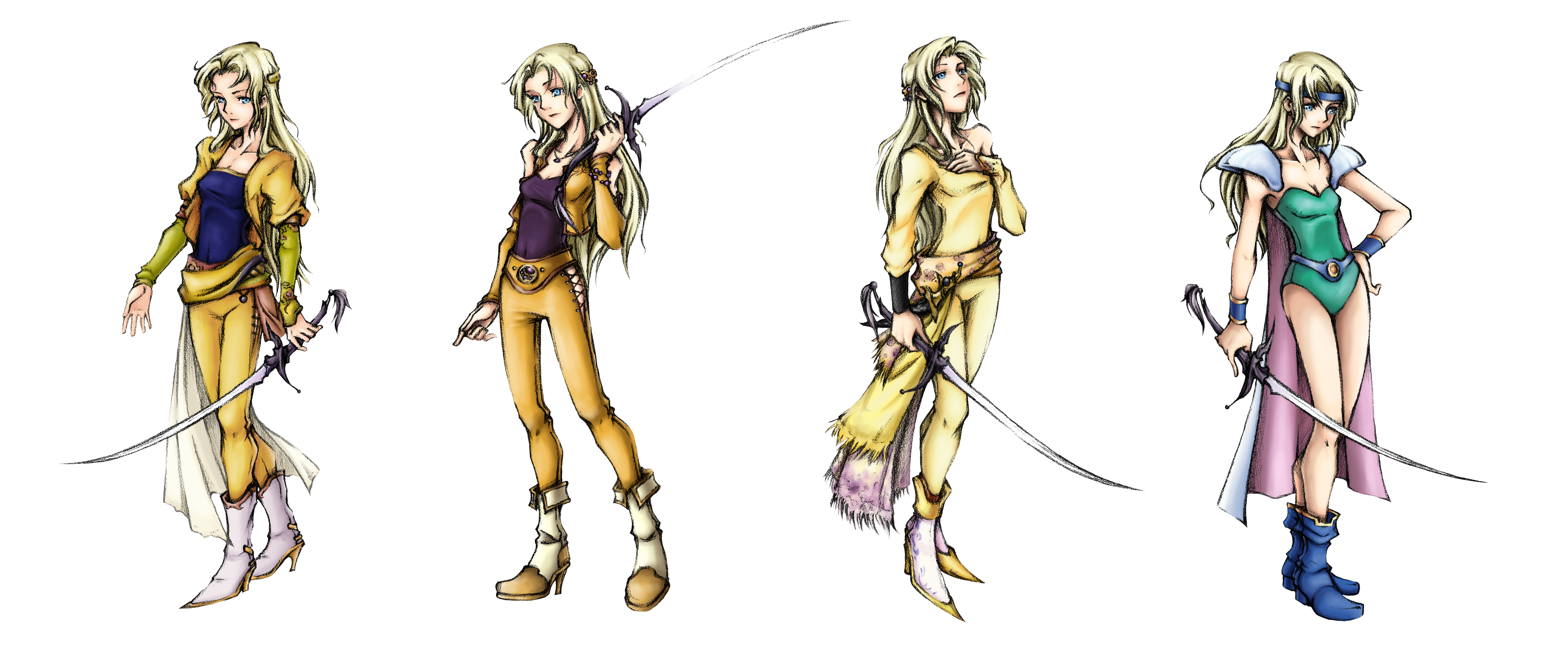All final fantasy female characters