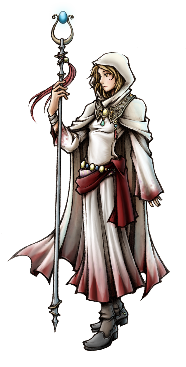 Dissidia White Mage of Light by isaiahjordan on DeviantArt