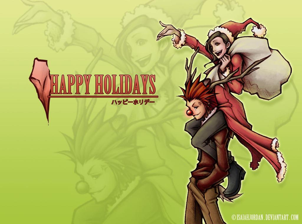 Happy Holidays!! :D by isaiahjordan