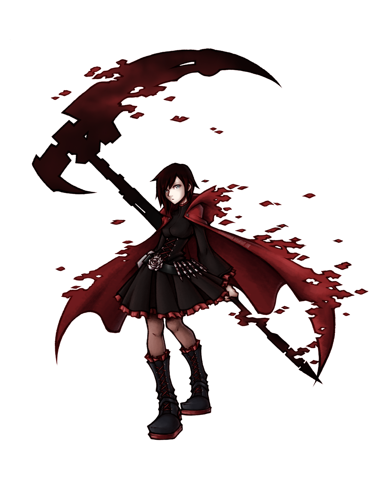 RWBY: Ruby Rose by isaiahjordan