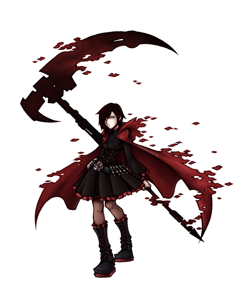 RWBY: Ruby Rose by isaiahjordan