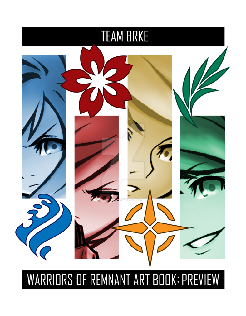 Warriors Of Remnant Art Book: Preview by isaiahjordan