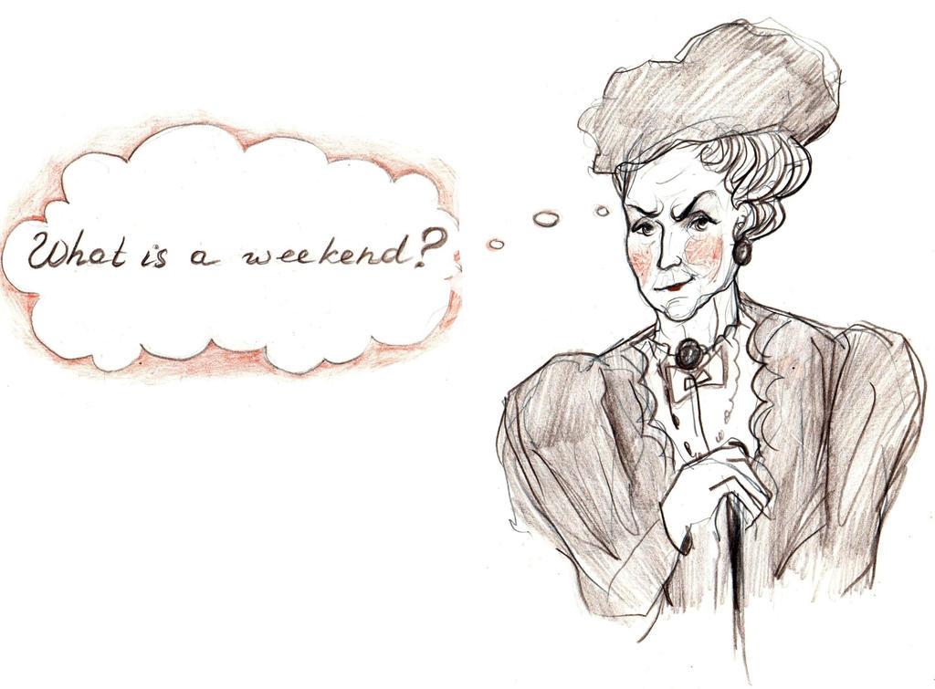 What is a week-end? by Sophia756