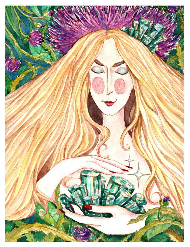 Emerald Fairy by Sophia756
