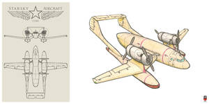 Cargo floatplane