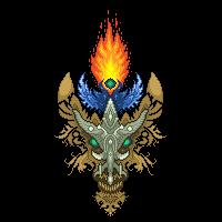 Fire spirit by YuryMilovidov