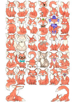 32 Foxes