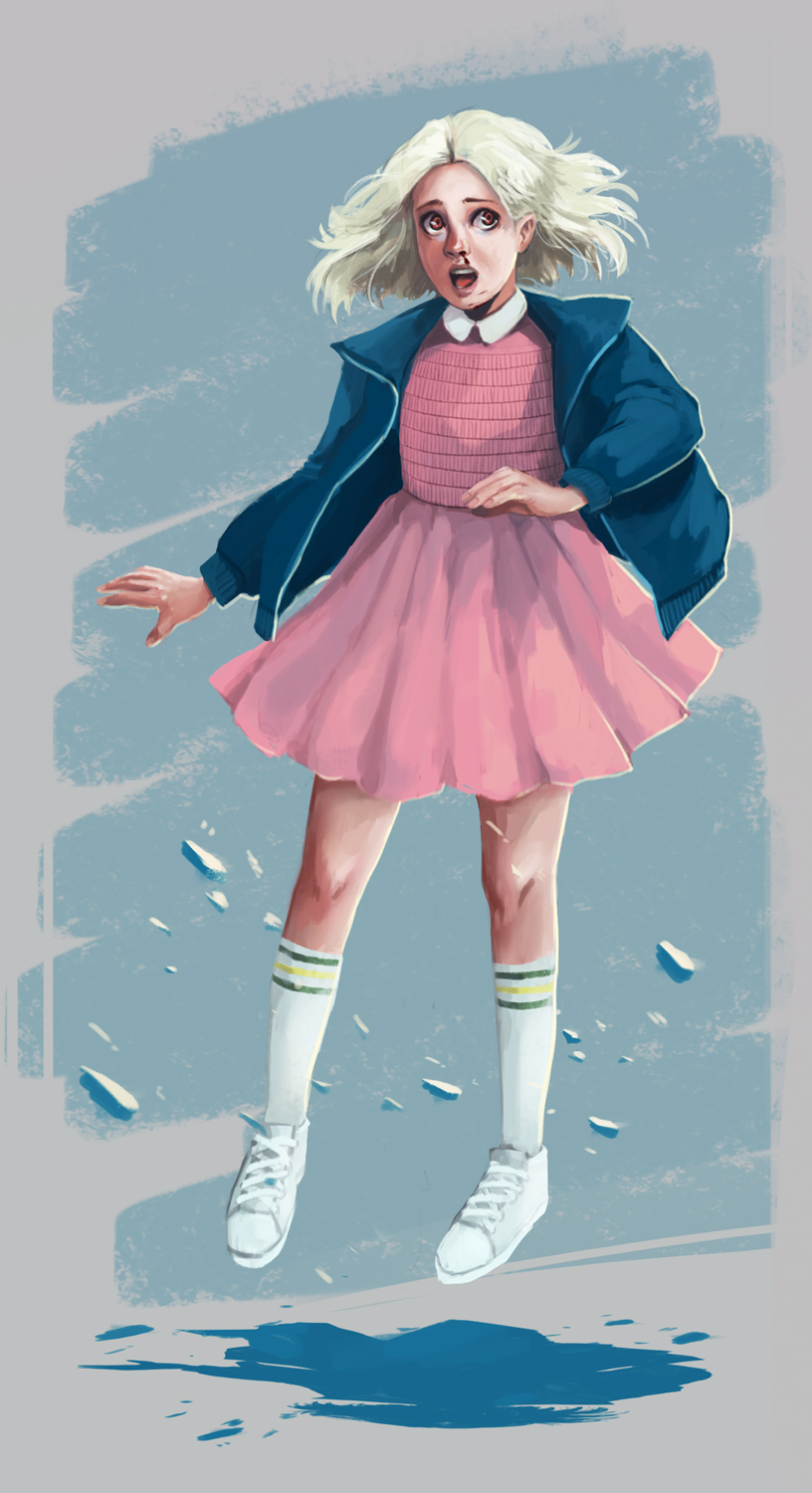 Eleven || Stranger things by fcnjt