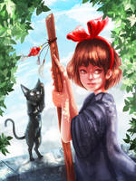 Kiki || with painting process by fcnjt
