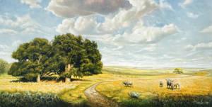 Two Oaks by ThaoArts