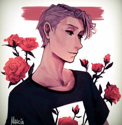 Roses by m-arci-a