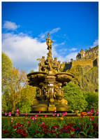 Ross Fountain by FlippinPhil
