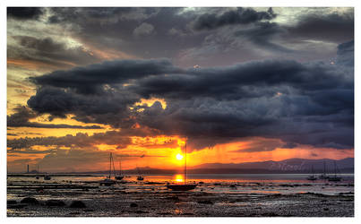 Blackness Sunset by FlippinPhil
