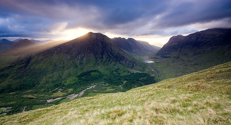 Glen Coe Rays by FlippinPhil