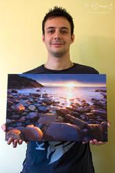 Crail Sunrise Canvas by FlippinPhil