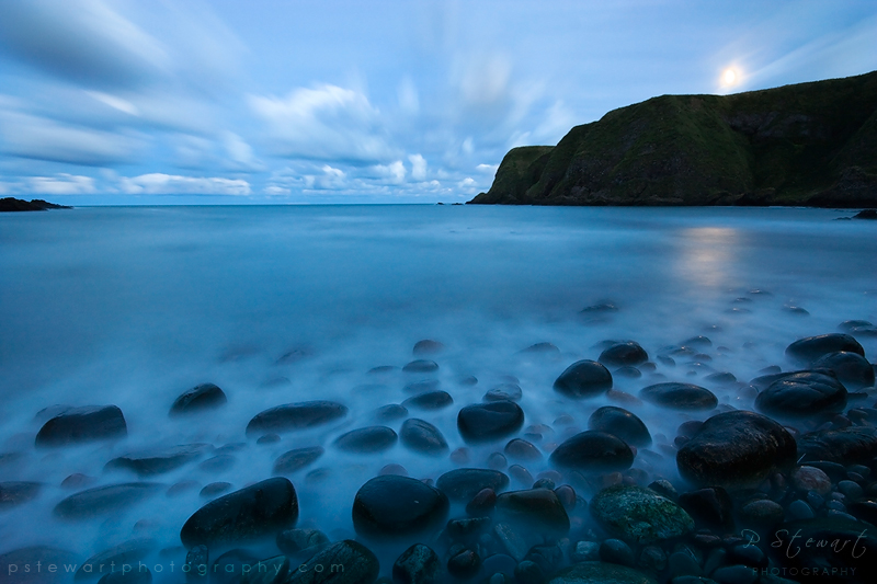 Dunnottar Moonrise by FlippinPhil