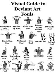 Visual Guide to DA Fouls by ligoscheffer