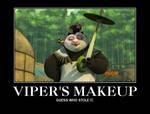Kung Fu Panda Viper's Makeup