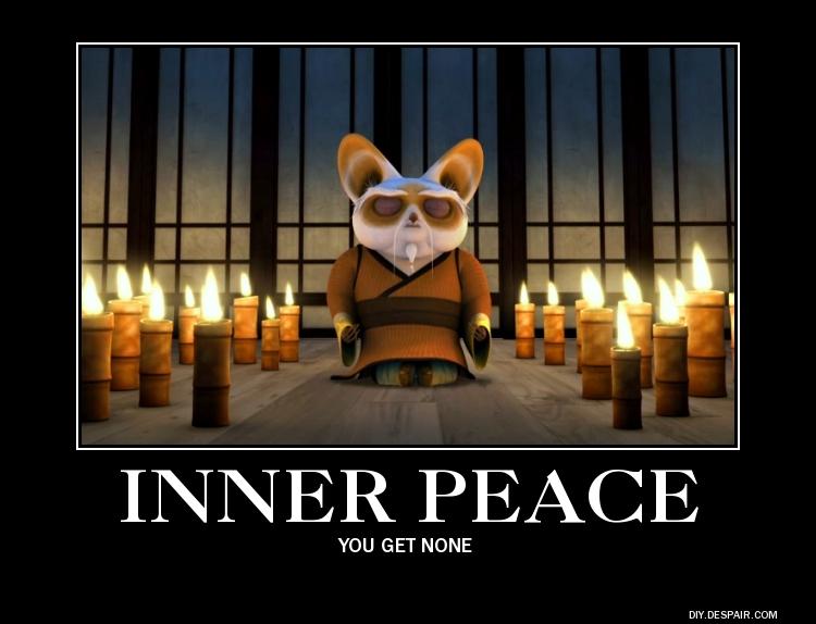 Kung fu panda 2 inner peace on boat