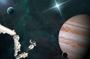 Space Walk by kclemas