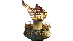 original Statue of Liberty Torch.  PNG by kclemas